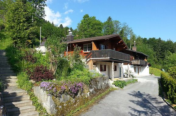 "Outside Summer 1 - Main Image, Ferienchalet ""Im Gus"", Oberterzen, Ostschweiz, St. Gallen, Switzerland"
