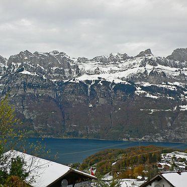 """Außen Winter 25, Ferienchalet """"Im Gus"""", Oberterzen, Ostschweiz, St. Gallen, Schweiz"""