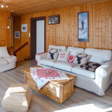 Innen Sommer 4, Ferienchalet Tsi-No in den Waadtländer Alpen, Gryon, Waadtländer Alpen, Waadt, Schweiz