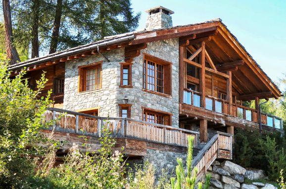 Außen Sommer 1 - Hauptbild, Chalet Ahnis im Wallis, Nendaz, Wallis, Wallis, Schweiz