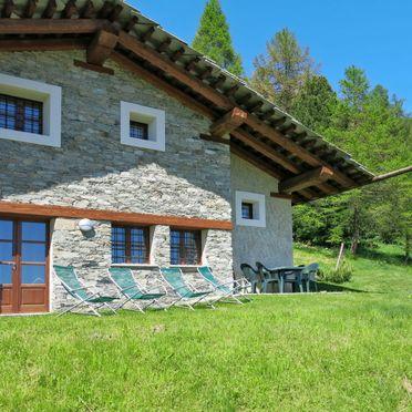 Innen Sommer 3, Rustico Pra Viei, Sampeyre, Piemonte-Langhe & Monferrato, Piemont, Italien
