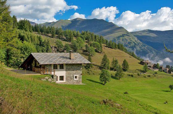 Außen Sommer 1 - Hauptbild, Casa pra la Funt, Sampeyre, Piemonte-Langhe & Monferrato, Piemont, Italien