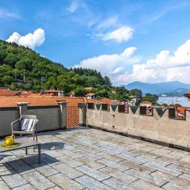 Außen Sommer 2, Castello Torre, Lesa, Lago Maggiore, Piemont, Italien