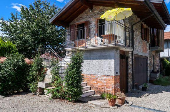 Außen Sommer 1 - Hauptbild, Rustico la Cascinetta, Ispra, Lago Maggiore, Lombardei, Italien