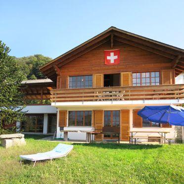 Außen Sommer 3, Chalet Gallina, Castelveccana, Lago Maggiore, Lombardei, Italien