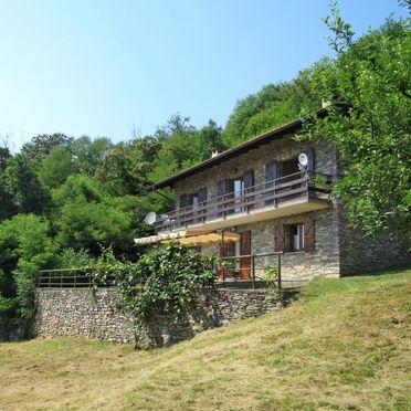 Außen Sommer 2, Rustico Fiorella, Luino, Lago Maggiore, Lombardei, Italien