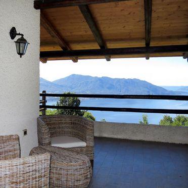 Außen Sommer 4, Rustico delle Rose, Cannero Riviera, Lago Maggiore, Piemont, Italien