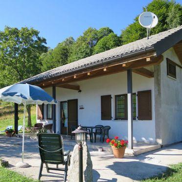 Außen Sommer 3, Chalet Baita Checc, Cannero Riviera, Trarego-Viggiona (VB), Piemont, Italien