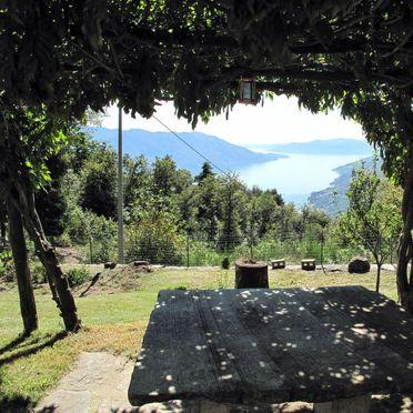 Außen Sommer 2, Ferienhaus Baita Lavu, Cannero Riviera, Lago Maggiore, Lombardei, Italien