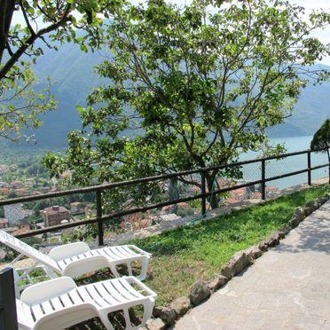 Außen Sommer 3, Ferienhaus Ca' Rossa, Porlezza, Luganer See, Lombardei, Italien