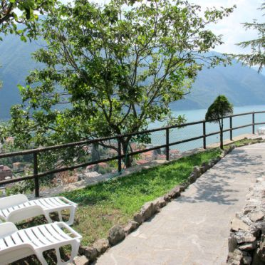 Outside Summer 3, Ferienhaus Ca' Rossa, Porlezza, Luganer See, , Italy