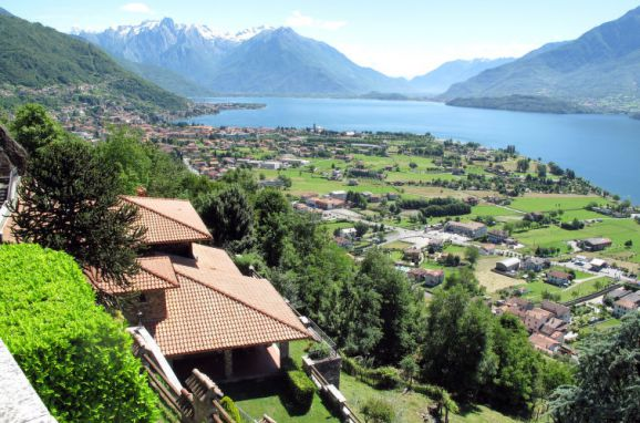 Außen Sommer 1 - Hauptbild, Villa Bellavista, Dongo, Comer See, Lombardei, Italien