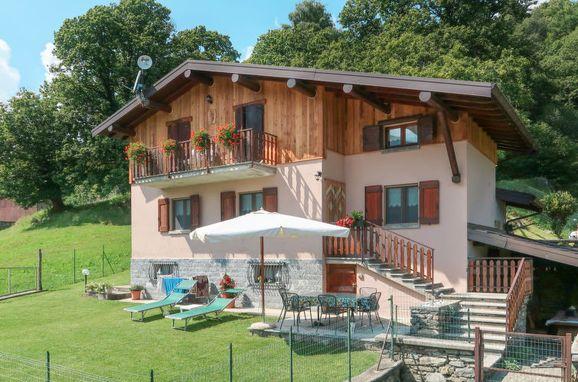 Außen Sommer 1 - Hauptbild, Ferienhaus Quang, Garzeno, Comer See, Lombardei, Italien