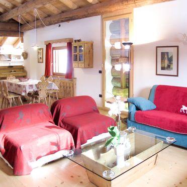 Innen Sommer 5, Chalet Tabia, Predazzo, Fleimstal, Trentino-Südtirol, Italien