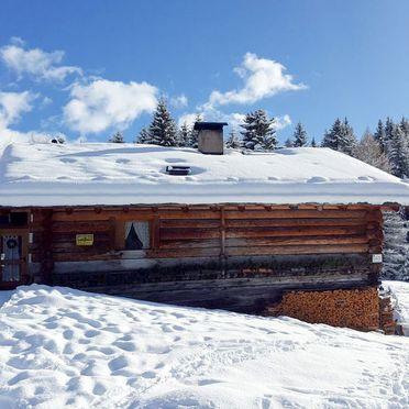 Außen Winter 22, Chalet Tabia, Predazzo, Fleimstal, Trentino-Südtirol, Italien