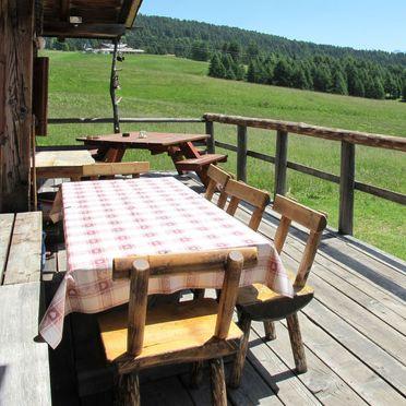 Außen Sommer 4, Chalet Baita Medil, Moena, Dolomiten, Trentino-Südtirol, Italien