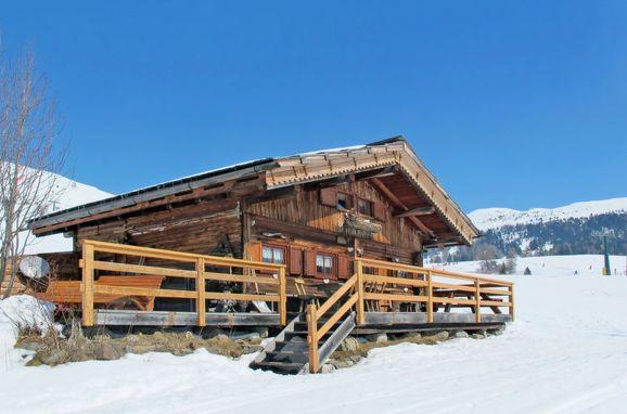 Außen Winter 24 - Hauptbild, Chalet Baita Medil, Moena, Fassa Valley, Trentino-Südtirol, Italien