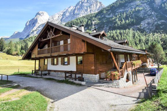 Außen Sommer 1 - Hauptbild, Chalet Cesa Galaldriel, Canazei, Dolomiten, Trentino-Südtirol, Italien