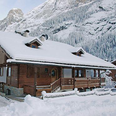 Außen Winter 37, Chalet Cesa Galaldriel, Canazei, Dolomiten, Trentino-Südtirol, Italien