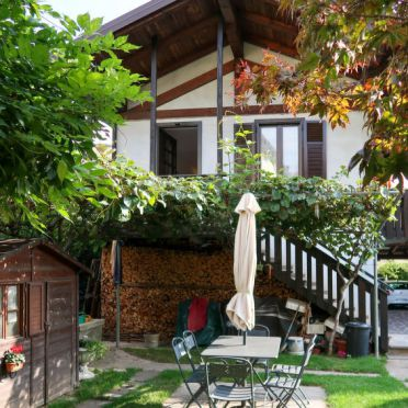 Außen Winter 17, Ferienhaus Gremes, Lago di Caldonazzo, Trentino-Südtirol, Trentino-Südtirol, Italien
