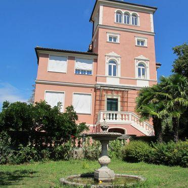 Außen Sommer 5, Villa la Perla del Lago, Lago di Caldonazzo, Trentino-Südtirol, Trentino-Südtirol, Italien