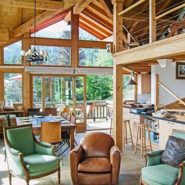 Inside Summer 3, Chalet l'Epachat, Saint Gervais, Savoyen - Hochsavoyen, Auvergne-Rhône-Alpes, France