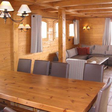 Innen Sommer 3, Chalet le Hameau de la Sapinière, Les Menuires, Savoyen - Hochsavoyen, Rhône-Alpes, Frankreich
