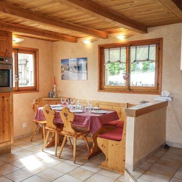 Innen Sommer 5, Chalet Mille Bulle, Saint Gervais, Savoyen - Hochsavoyen, Auvergne-Rhône-Alpes, Frankreich
