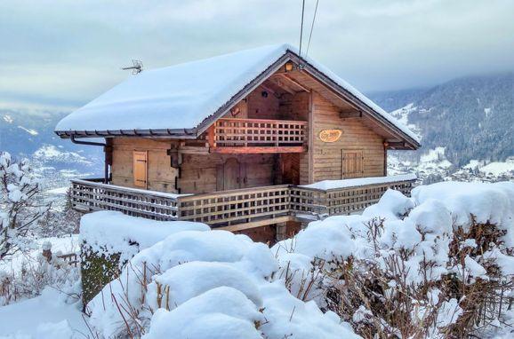 Außen Winter 20 - Hauptbild, Chalet Mille Bulle, Saint Gervais, Savoyen - Hochsavoyen, Auvergne-Rhône-Alpes, Frankreich