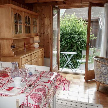 Innen Sommer 2, Chalet Farfadets, Saint Gervais, Savoyen - Hochsavoyen, Auvergne-Rhône-Alpes, Frankreich