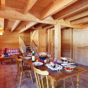 Innen Sommer 4, Chalet bois de Champelle, Morillon, Savoyen - Hochsavoyen, Auvergne-Rhône-Alpes, Frankreich