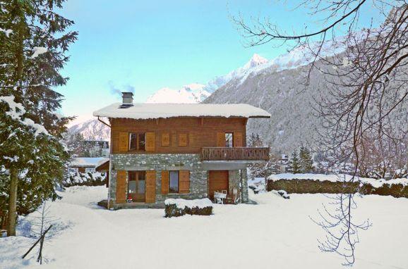 Außen Winter 27 - Hauptbild, Chalet Malo, Chamonix, Savoyen - Hochsavoyen, Auvergne-Rhône-Alpes, Frankreich