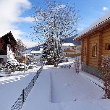 Außen Winter 32, Blockhütte Karin, Axams, Tirol, Tirol, Österreich