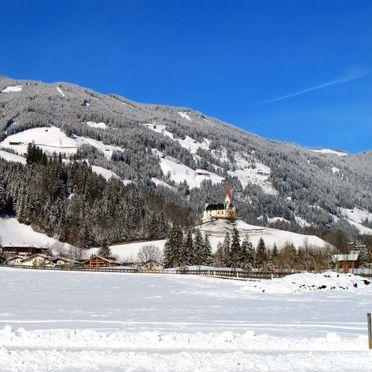 Innen Winter 18, Chalet Auhäusl, Fügen, Zillertal, Tirol, Österreich