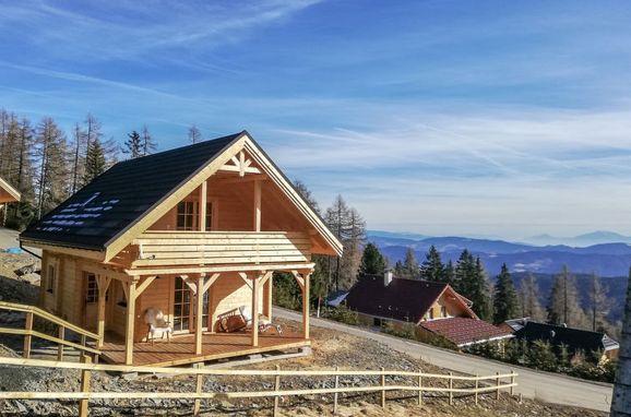 Außen Winter 16, Chalet Gimpl am Hochrindl, Sirnitz - Hochrindl, Kärnten, Kärnten, Österreich