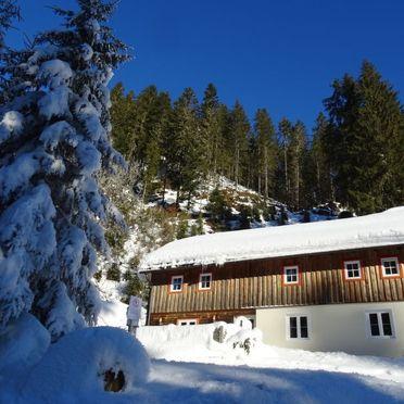 Außen Winter 23, Ferienchalet Plaik, Sankt Martin am Tennengebirge, Pinzgau, Salzburg, Österreich