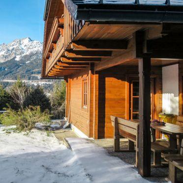 Außen Winter 25, Berghütte Simon, Gröbming, Steiermark, Steiermark, Österreich
