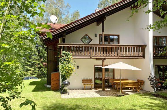Außen Sommer 1 - Hauptbild, Chalet Birke, Bischofsmais, Bayerischer Wald, Bayern, Deutschland