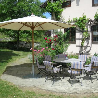 Innen Sommer 2 - Hauptbild, Ferienhaus Archaeopteryx, Langenaltheim, Altmühltal, Bayern, Deutschland