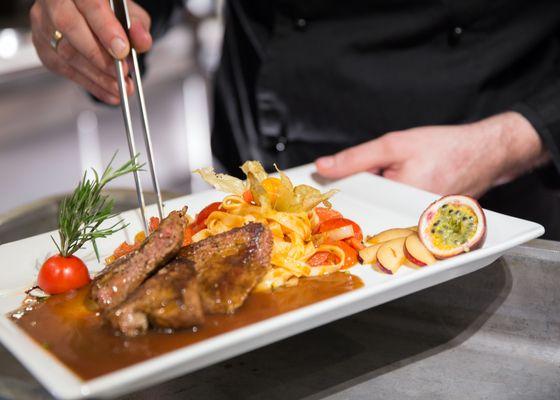 Organic cuisine - Land Gut Höhne