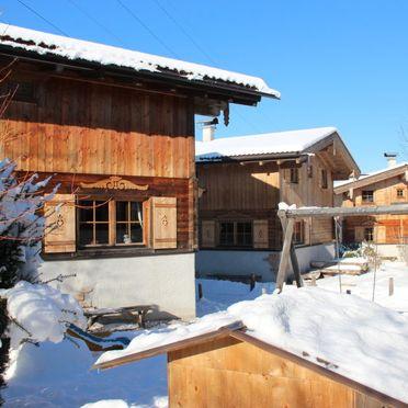 Außen Winter 43, Chalet Alpendorf, Kaltenbach, Stumm, Tirol, Österreich