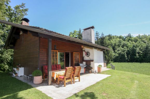 Außen Sommer 1 - Hauptbild, Hütte Rustika am Wörthersee, Klagenfurt am Wörthersee, Kärnten, Kärnten, Österreich