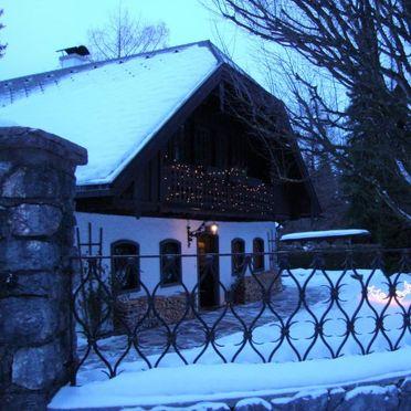 Außen Winter 40, Landhaus Aigen am Wolfgangsee, Strobl, Salzkammergut, Salzburg, Österreich