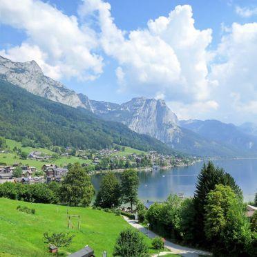 Außen Sommer 4, Chalet Steirer am Grundlsee, Grundlsee, Salzkammergut, Salzburg, Österreich