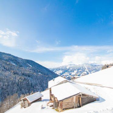 Außen Winter 39, Alm Chalet in Stumm, Stumm im Zillertal, Zillertal, Tirol, Österreich
