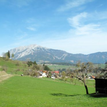 Außen Sommer 2, Harmerhütte, Stein an der Enns, Steiermark, Steiermark, Österreich