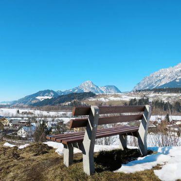 Außen Winter 10, Harmerhütte, Stein an der Enns, Steiermark, Steiermark, Österreich