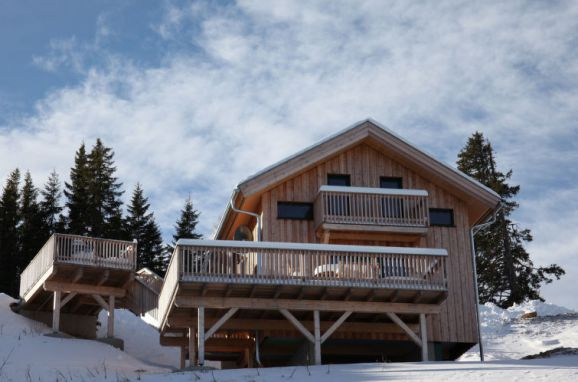 Außen Winter 33 - Hauptbild, Chalet Klippitzrose, Klippitztörl, Kärnten, Kärnten, Österreich