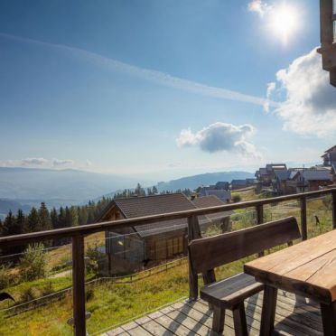 Außen Sommer 2, Chalet Panorama, Klippitztörl, Kärnten, Kärnten, Österreich