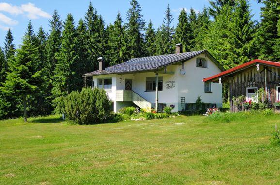 Außen Sommer 1 - Hauptbild, Ferienhaus Paula, Bayerisch Eisenstein, Bayerischer Wald, Bayern, Deutschland